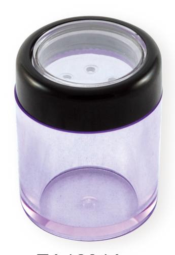 蜜粉瓶, 化妝品容器, 化妝品瓶罐